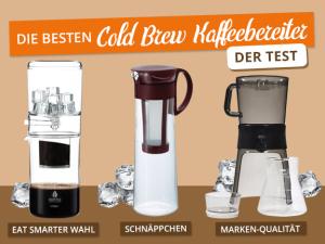 Die besten Cold Brew Kaffeebereiter