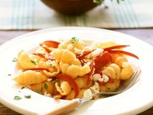 Conchiglie mit Paprika und Käse Rezept