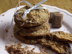 Schoko-Cookies und Schoko-Mandeln