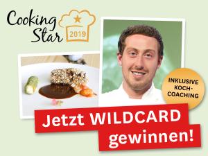 Jetzt Wildcard für den Cooking Star gewinnen!
