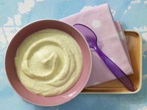 Couscous-Brei mit Pfirsich Rezept