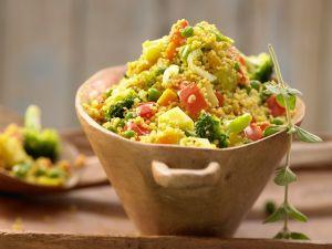 Rezept Couscous-Gemüse-Pfanne