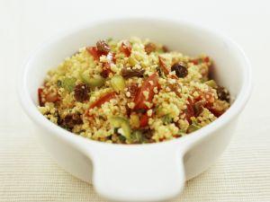 Couscous-Gemüse-Salat Rezept