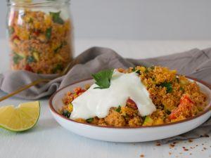 Couscous mit Sommergemüse Rezept