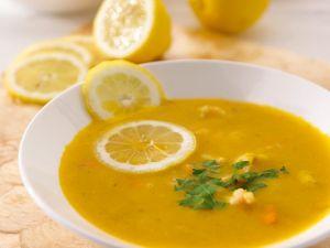 Cremesuppe mit Meeresfrüchten Rezept