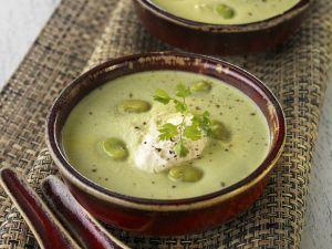 Cremige Bohnensuppe Rezept
