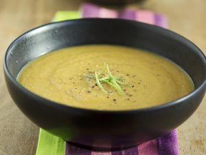 Cremige Karotten-Linsen-Suppe Rezept