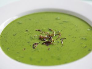 Cremige Spinatsuppe Rezept