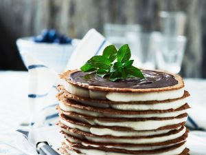 Crêpe-Torte Rezept