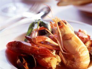Crevetten-Muschelsuppe Rezept