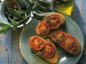 Crostini mit getrockneten Tomaten Rezept