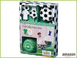 """CupCake Deko-Set """"FUSSBALL"""""""