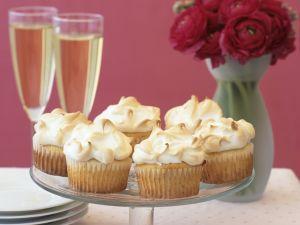 Cupcakes mit Baiser Rezept