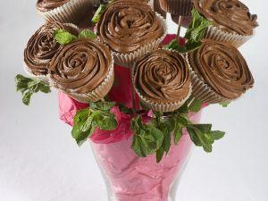 Cupcakes mit Schokolade Rezept