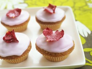 Cupcakes mit Zuckerguss Rezept