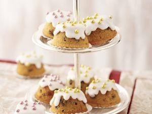 Cupcakes mit Zuckerperlen Rezept