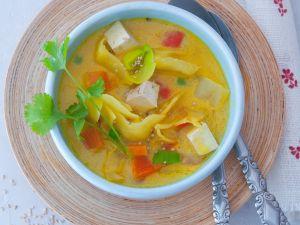 Curry-Gemüsesuppe Rezept