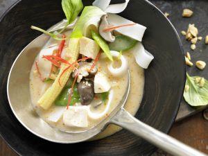 Curry-Hühnersuppe Rezept