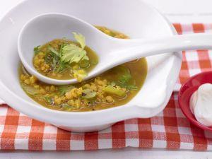 Curry-Linsensuppe Rezept