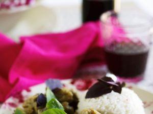 Curry mit Auberginen Rezept