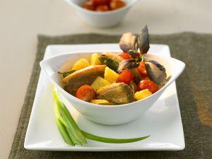 Curry mit Ente und Ananas Rezept