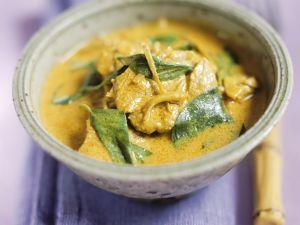 Curry mit Rind und Thai-Basilikum Rezept