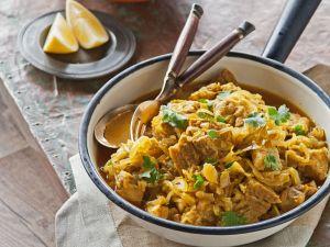 Curry mit Schweinefleisch, Tamarinde und Ingwer Rezept