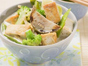 Curry mit Tofu Rezept