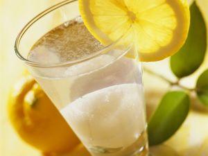 Drink mit Zitronensorbet Rezept