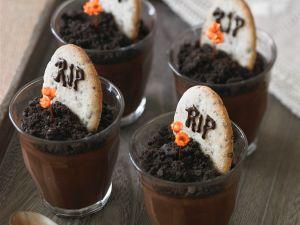 Halloween-Schokopudding Rezept