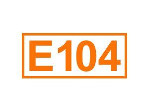 E 104 (Chinolingelb)
