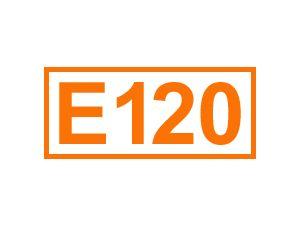 E 120 (Cochenille)