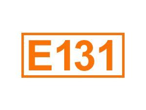 E 131 (Patentblau V)