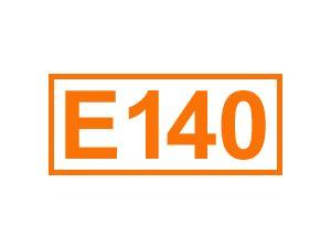 E 140 (Chlorophylle)