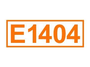 E 1404 (Oxidierte Stärke)