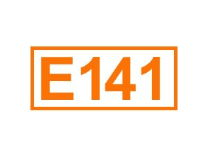 E 141 (Kupfer-Chlorophyllin-Komplex)