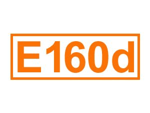 E 160 d (Lycopin)