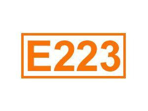 E 223 (Natriumdisulfit)