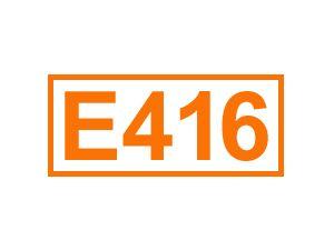 E 416 (Karayagummi)