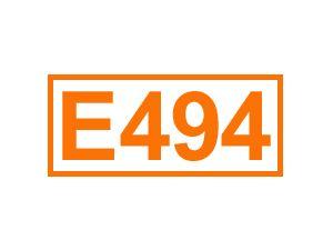 E 494 (Sorbitanmonooleat)