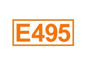 E 495 (Sorbitanmonopalmitat)