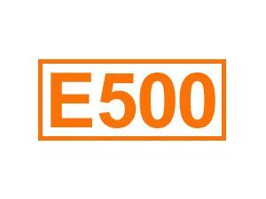 E 500 (Soda)
