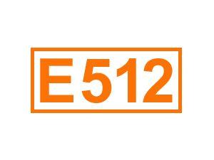 E 512 (Zinn-II-Clorid)