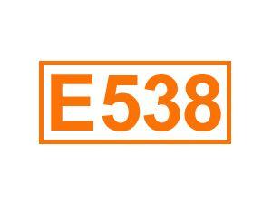 E 538 (Calciumferrocyanid)