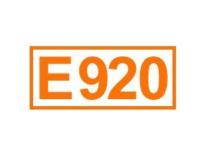 E 920 (Cystein)