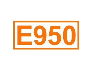 E 950 (Acesulfam K)