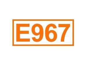 E 967 (Xylit)