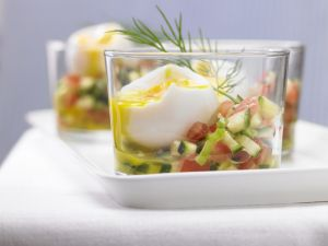 Eier im Glas Rezept