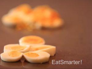 Eier schneiden