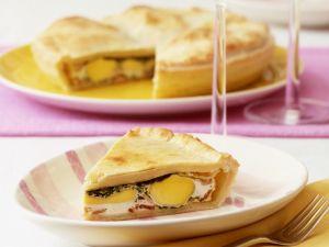 Eier-Speck-Pie Rezept